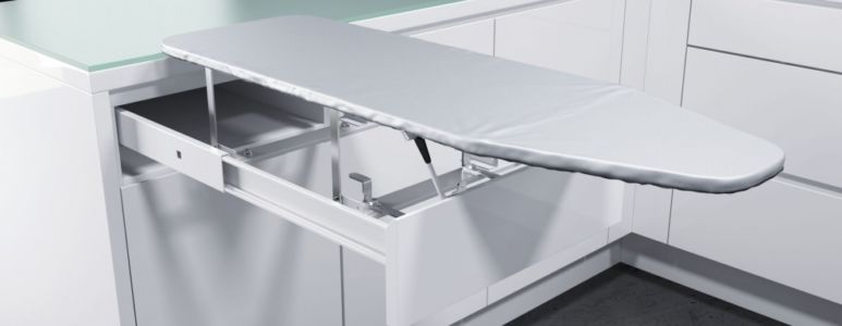 Pull-out ironing board 2
